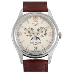 Patek Philippe Complications Annual Calendar Moon Phase Watch 5146G