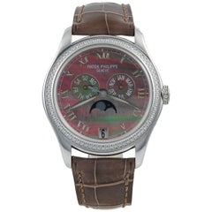 Patek Philippe Diamond and Mother of Pearl Watch