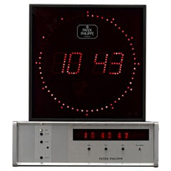 Patek Philippe Digital Display Clock