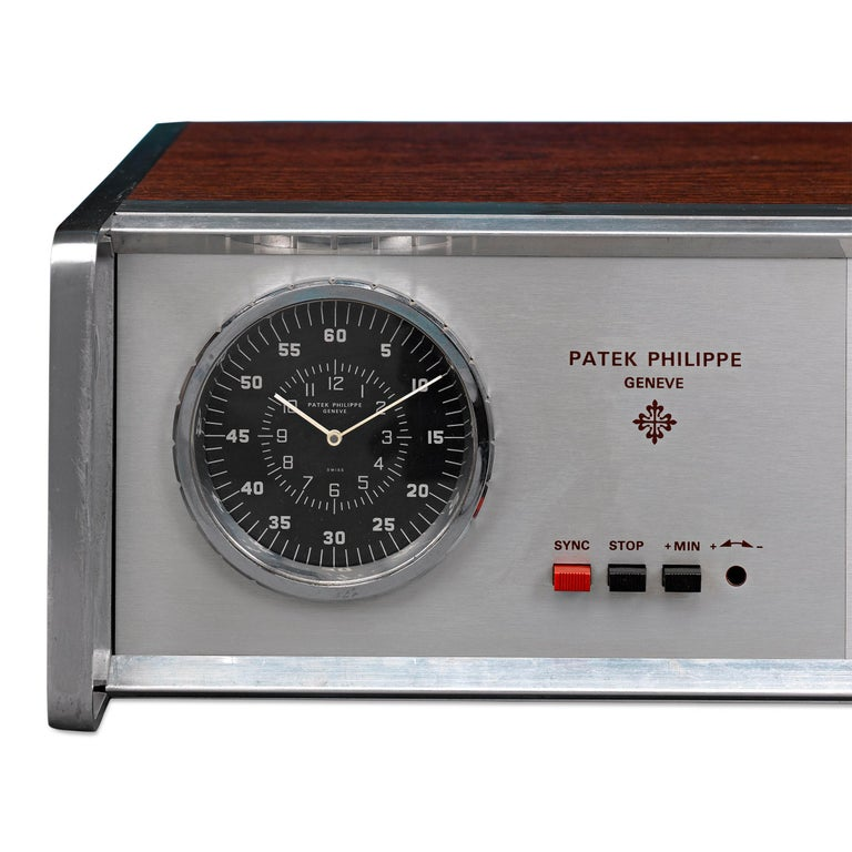 Industrial Patek Philippe Electronic Master Clock Prototype For Sale