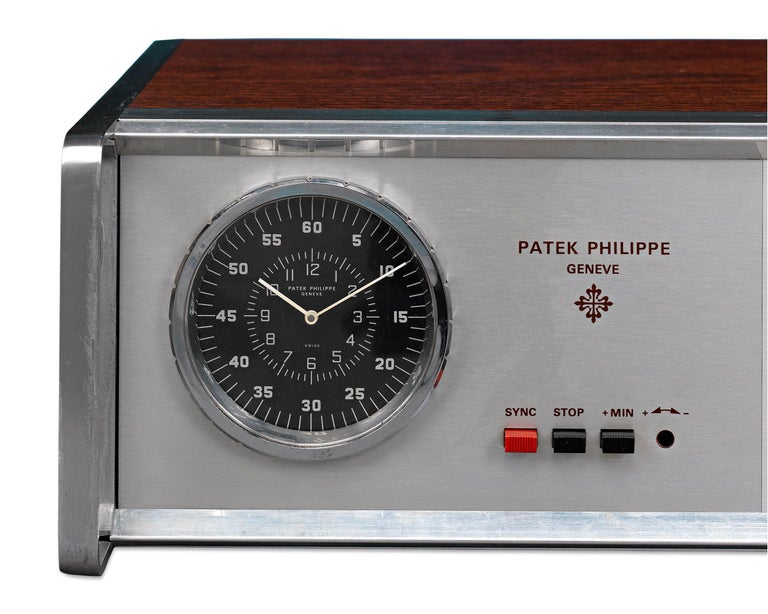 Swiss Patek Philippe Electronic Master Clock Prototype For Sale