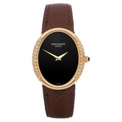 Patek Philippe Ellipse 0 4310 Ladies Yellow Gold Diamond Watch