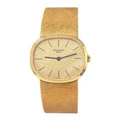 Patek Philippe Ellipse 18 Karat Yellow Gold Men's Watch Manual 3545/2