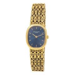 Patek Philippe Ellipse 18 Karat Yellow Gold Quartz Men's Watch 4764/001