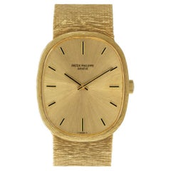 Patek Philippe Ellipse 3746, Gold Dial, Certified and Warranty