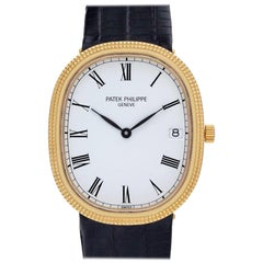 Patek Philippe Ellipse 3931, Gold Dial, Certified and Warranty