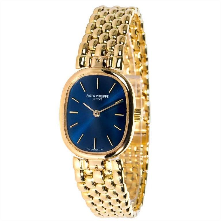 Patek Philippe Ellipse 4564/1 Women's Watch in 18 Karat Gold