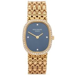 Patek Philippe Ellipse 4698 Ladies Yellow Gold Diamond Watch