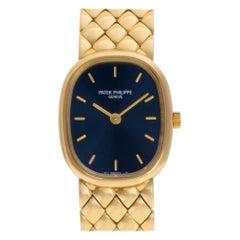 Patek Philippe Ellipse 4764/011, Blue Dial, Certified and Warranty