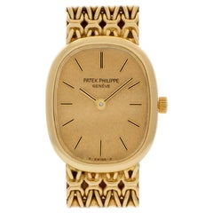 Patek Philippe Ellipse 4764, Gold Dial, Certified and Warranty