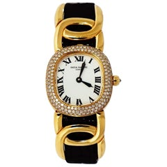 Patek Philippe Ellipse Diamond Bezel 4830J in 18 Karat Yellow Gold