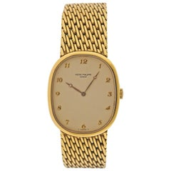 Patek Philippe Ellipse Gold Watch