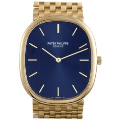 Patek Philippe Ellipse Manual Wind Blue Dial Watch 3748