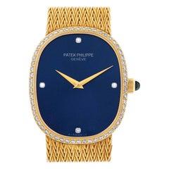 Patek Philippe Ellipse MISSING, Blue Dial, Certified