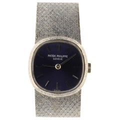 Patek Philippe Ellipse Unknown, Blue Dial, Certified and Warranty