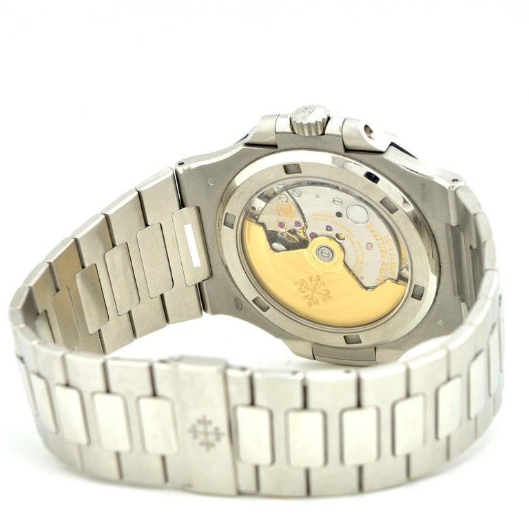 Patek Philippe Emerald 5711P Nautilus 40th Anniversary Watch For Sale 1