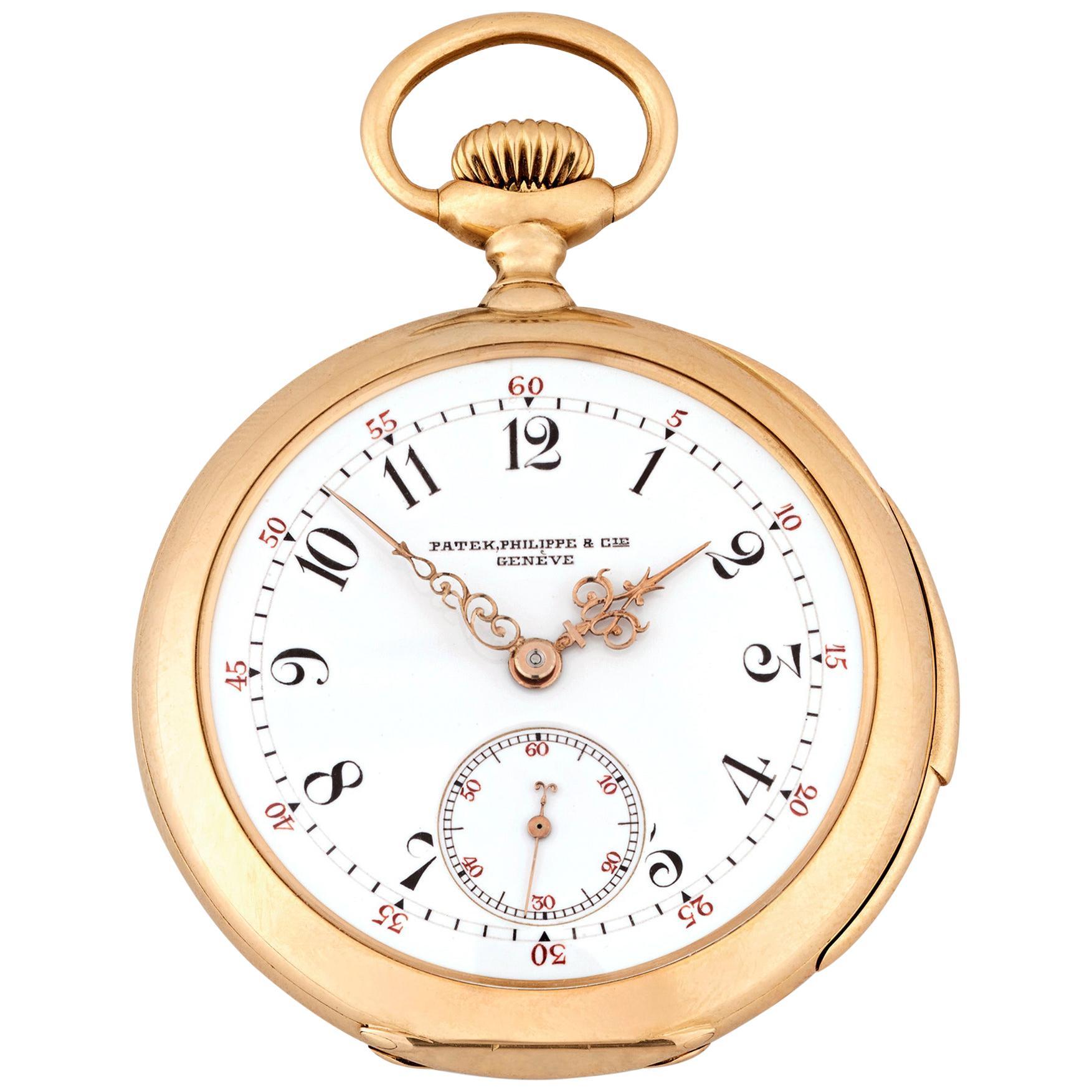 Patek Philippe Five-Minute Repeater Pocket Watch