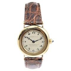 Patek Philippe for Tiffany & Co. 18 Karat Yellow Gold Ladies Watch, circa 1920s