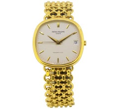 Patek Philippe for Tiffany & Co. Full 18 Karat Gold, Women, 1980-1989