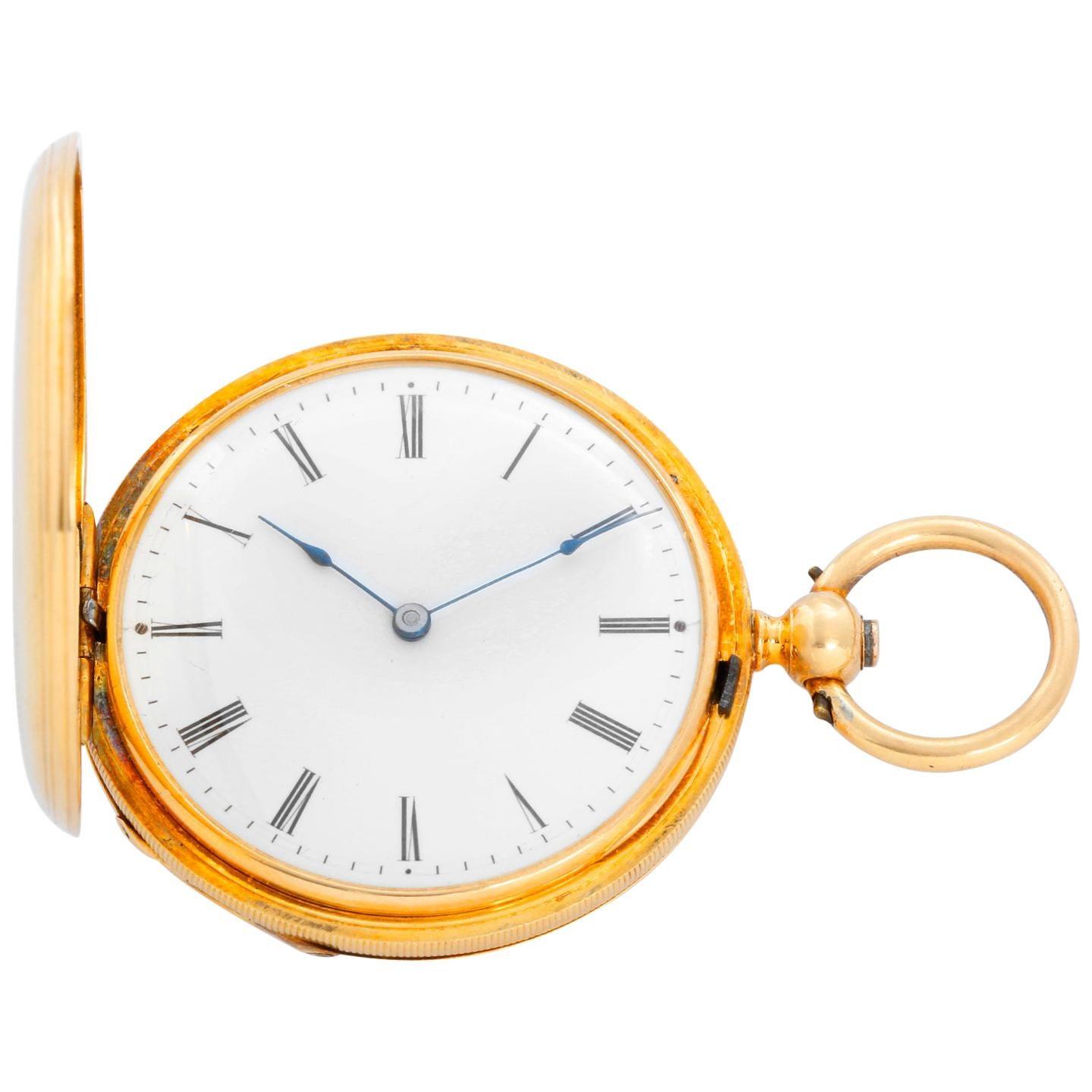 Patek Philippe for Tiffany & Co. Key Wind Pocket Watch