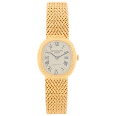 Patek Philippe for Tiffany & Co. Ladies Yellow Gold Champagne Watch
