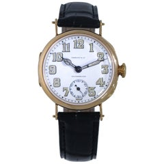 Patek Philippe for Tiffany & Co. Yellow Gold Wristwatch, 1920s