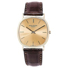 Patek Philippe Geneve 7 50 3544, Gold Dial, Certified and Warranty
