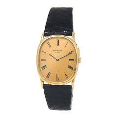 Patek Philippe Golden Ellipse 18 Karat Yellow Gold Manual Ladies Watch 3748