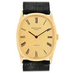 Patek Philippe Golden Ellipse 18 Karat Yellow Gold Men's Watch 3846