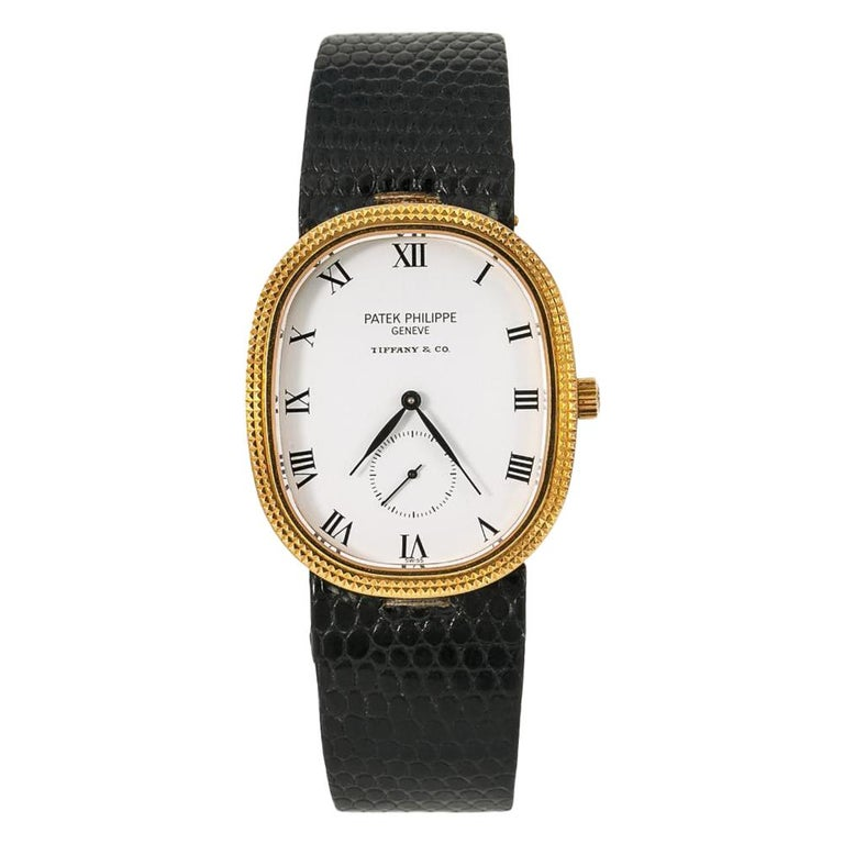 Patek Philippe Golden Ellipse, 1991, offered by the Collective