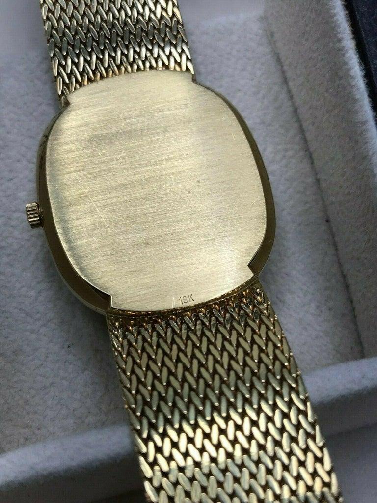 Patek Philippe Golden Ellipse Ref 3838 18 Karat Solid Gold with Box For Sale 3
