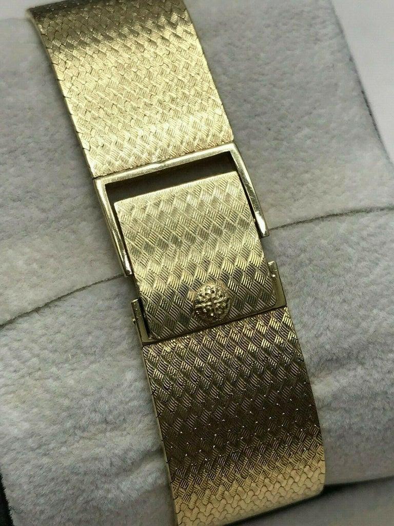 Patek Philippe Golden Ellipse Ref 3838 18 Karat Solid Gold with Box For Sale 5