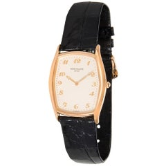 Patek Philippe Gondolo 3842R Men's Watch in 18 Karat Rose Gold