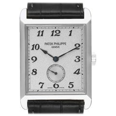 Patek Philippe Gondolo White Gold Silver Dial Men's Watch 5109