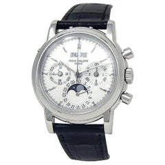 Patek Philippe Grand Complications 3970EP, Silver Dial, Certified