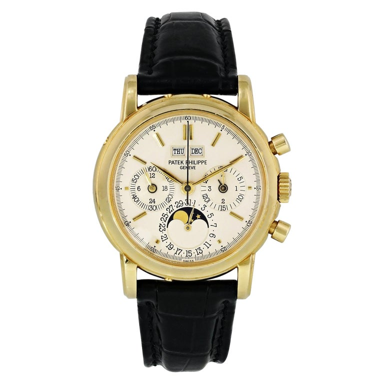 Patek Philippe Grand Complications 3970J Perpetual Calendar Chronograph Men's For Sale