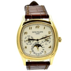 Patek Philippe Yellow Gold Grand Complications Automatic Wristwatch