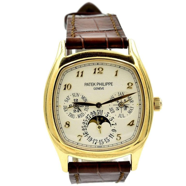 Patek Philippe Yellow Gold Grand Complications Automatic Wristwatch