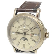 Patek Philippe Grand Complications Perpetual White Gold Men's Watch 5159G-001
