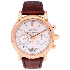 Patek Philippe Grand Perpetual Calendar Chronograph Rose Gold 5204R-001 Watch