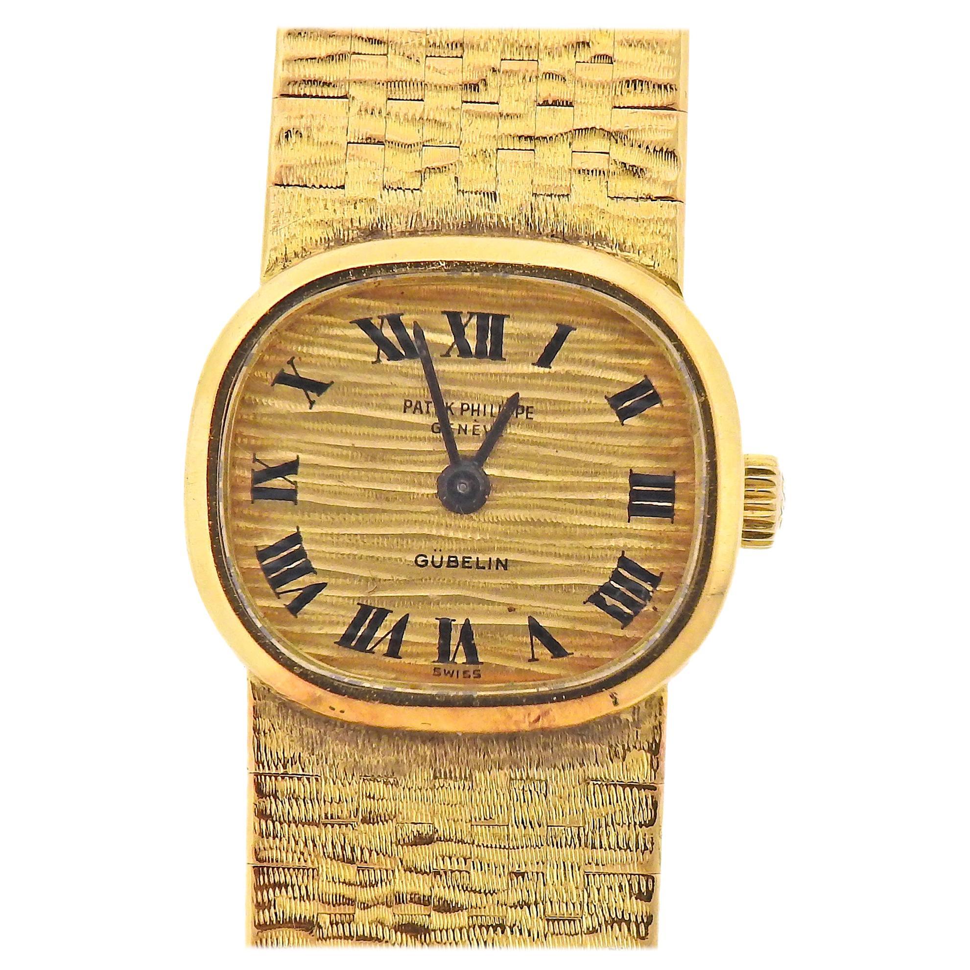 Patek Philippe Gubelin Gold Ladies Watch