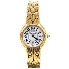 Patek Philippe La Flamme Ladies Watch in 18 Karat Yellow Gold
