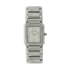 Patek Philippe Ladies Stainless Steel Twenty 4 quartz Wristwatch