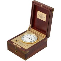 Patek Philippe Marine Chronometer Desk Clock
