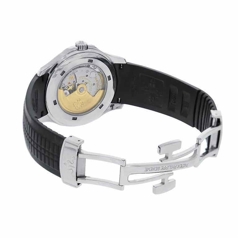 Patek Philippe Men's Aquanaut Stainless Steel Watch 5167A-001 In Excellent Condition For Sale In Miami, FL