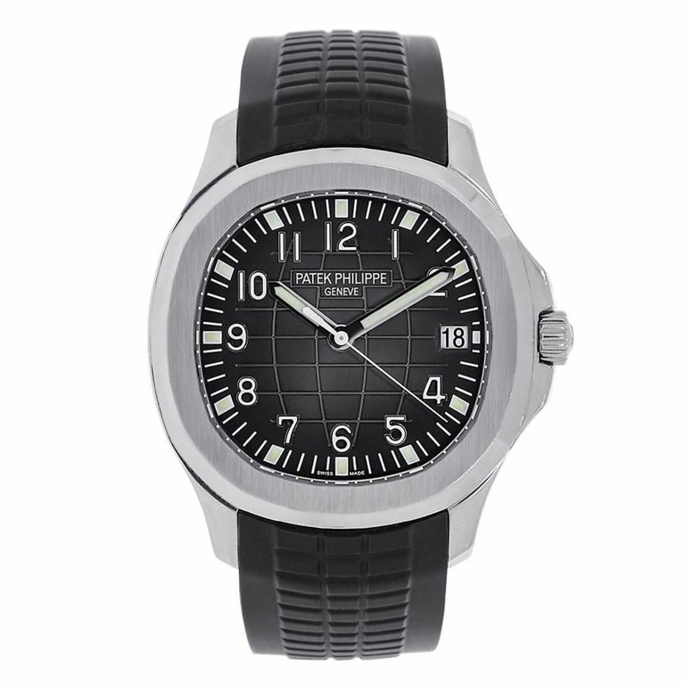 Patek Philippe Men's Aquanaut Stainless Steel Watch 5167A-001 For Sale