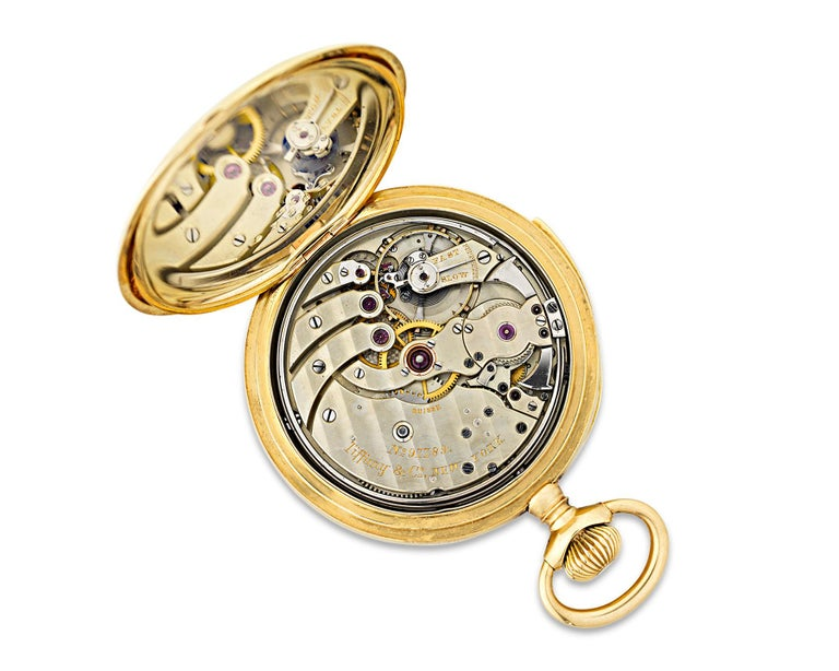 Modern Patek Philippe Minute Repeater Pocket Watch by Tiffany & Co. For Sale