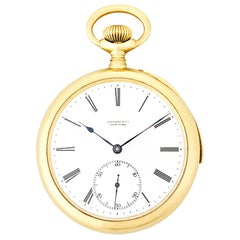 Patek Philippe Minute Repeater Pocket Watch by Tiffany & Co.