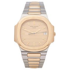 Patek Philippe Nautilus 3900 Ladies Stainless Steel and Yellow Gold Watch