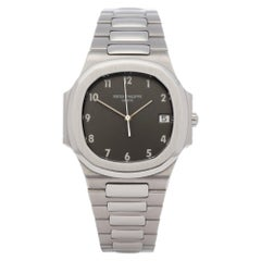 Patek Philippe Nautilus 3900 Unisex Stainless Steel Rare Grey Dial Watch